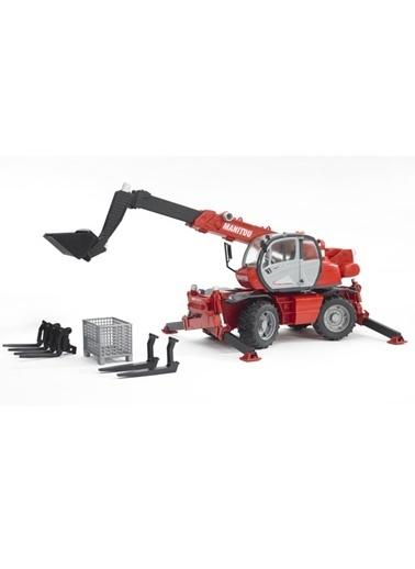 Bruder Manitou Mrt 2150 Teleskopik Forklift 02129 Renkli